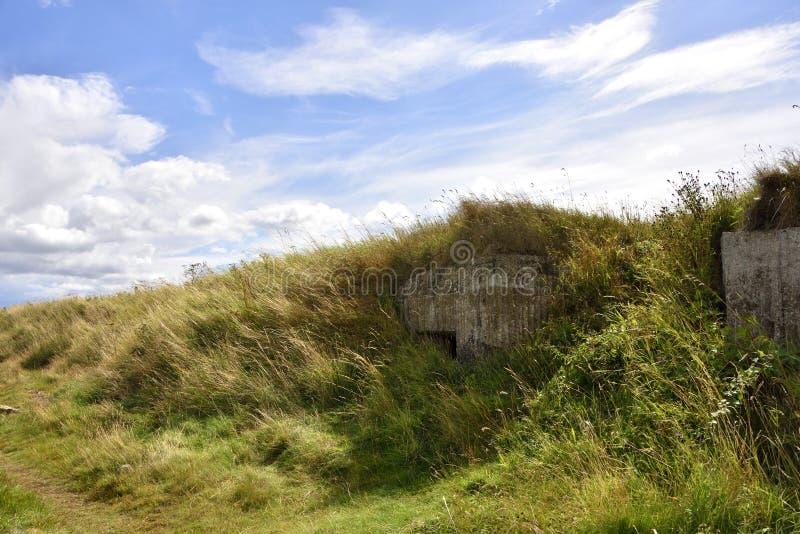 WW2 krajobraz Północno-wschodni Anglia obraz royalty free