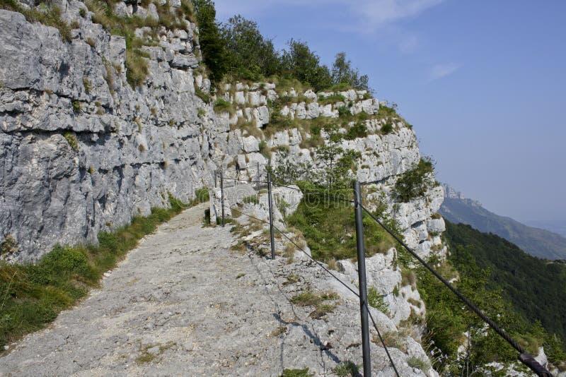 99_WW Monte Cengio stockfotos