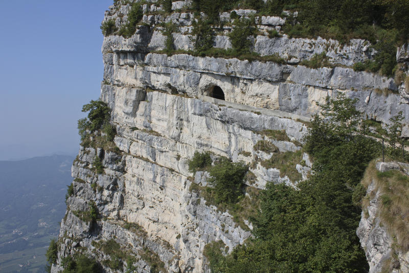 WW Monte Cengio lizenzfreie stockbilder