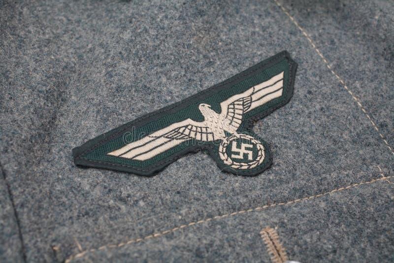 WW2 niemiec Wehrmacht wojskowego insygnia zdjęcia royalty free
