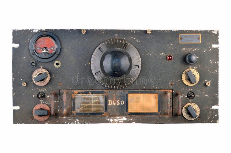 Ww2 radio receiver royalty free stock photo