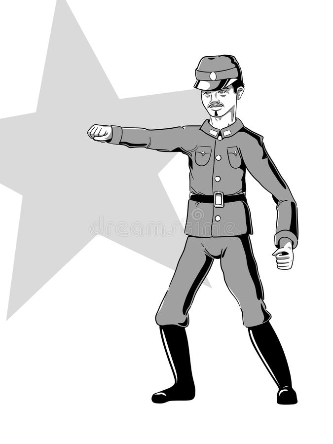 Download WW2 Chinese Soldier stock illustration. Image of graphic - 20025226