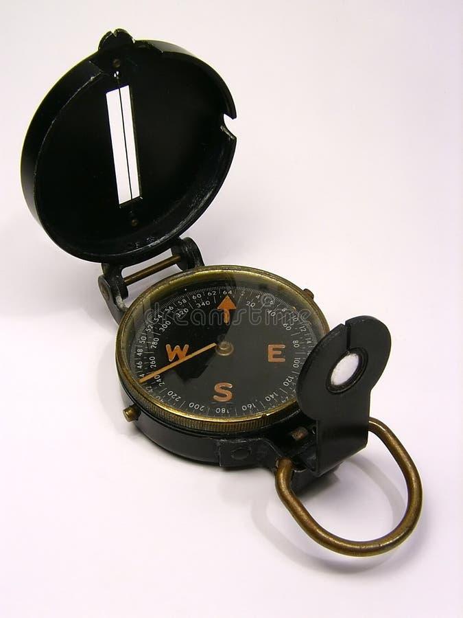 WW2 kompas stock foto's