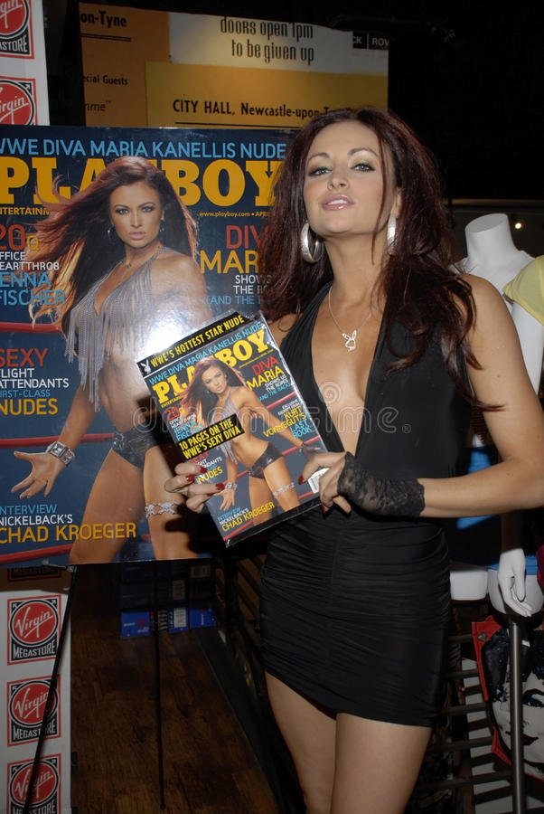 Download WWE Diva Maria Kanellis Appearing Live. Editorial Photography - Image: 15398572
