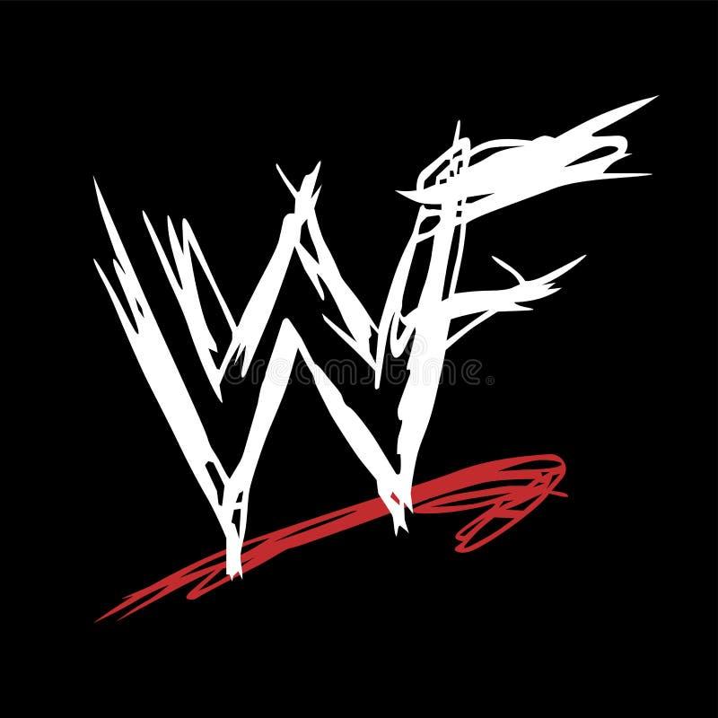 WWE WF royalty free illustration