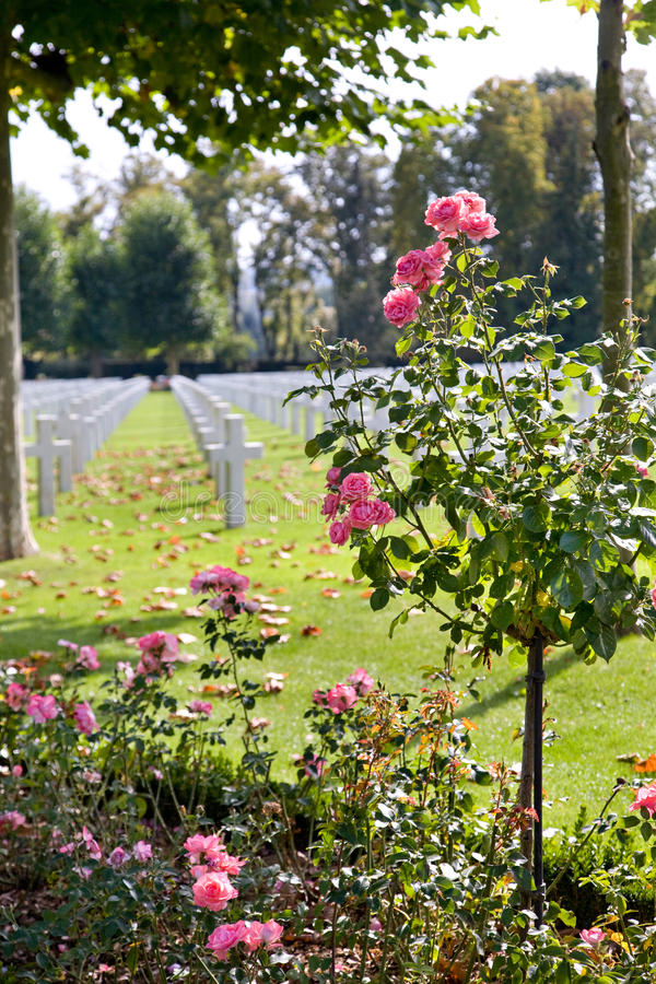 Download WWI American Cemetery At Oise-Aisne, France Stock Photo - Image: 13799592