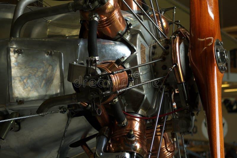 WWI hölzerner flacher Propeller lizenzfreies stockbild