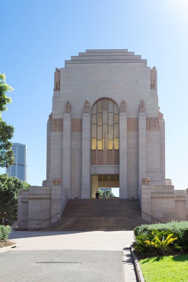 WWI memorial in Sydney. Battle of Gallipoli (WWI) memorial in Hyde Park Sydney royalty free stock photos