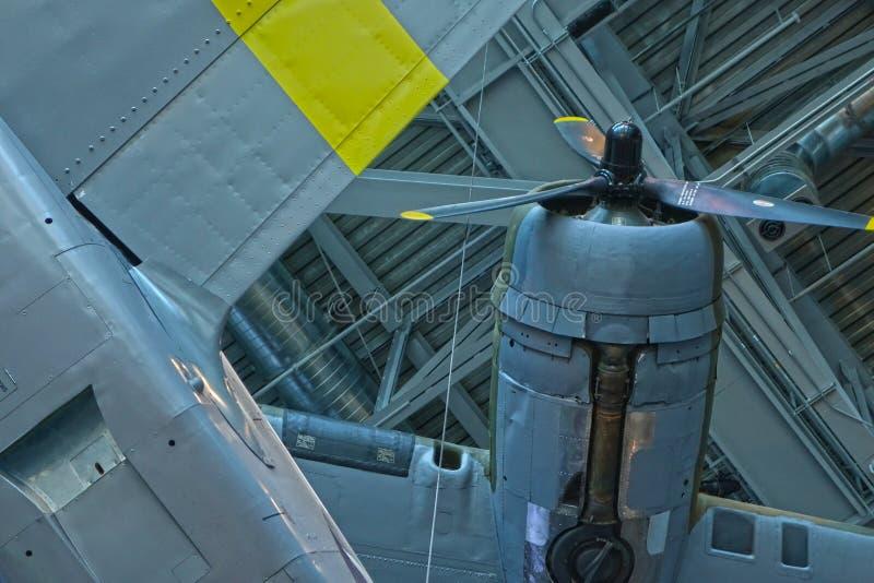 WWII轰炸机飞机 库存图片