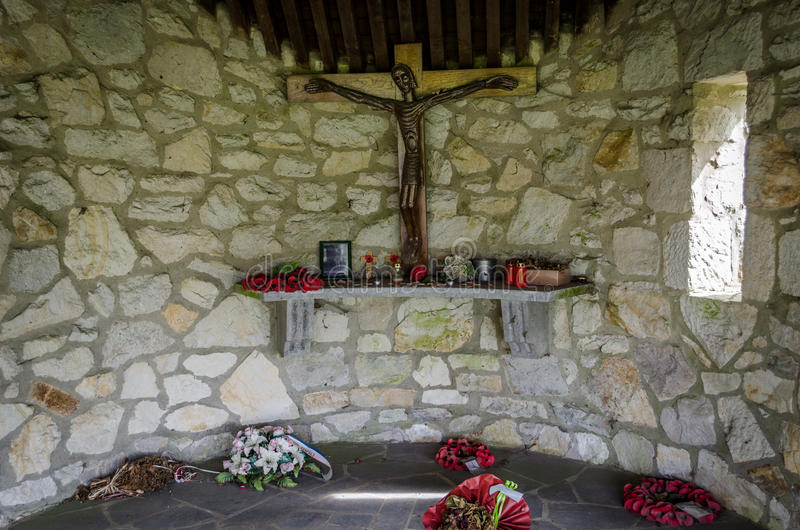 WWII μνημείο σε Malmedy στοκ φωτογραφίες με δικαίωμα ελεύθερης χρήσης