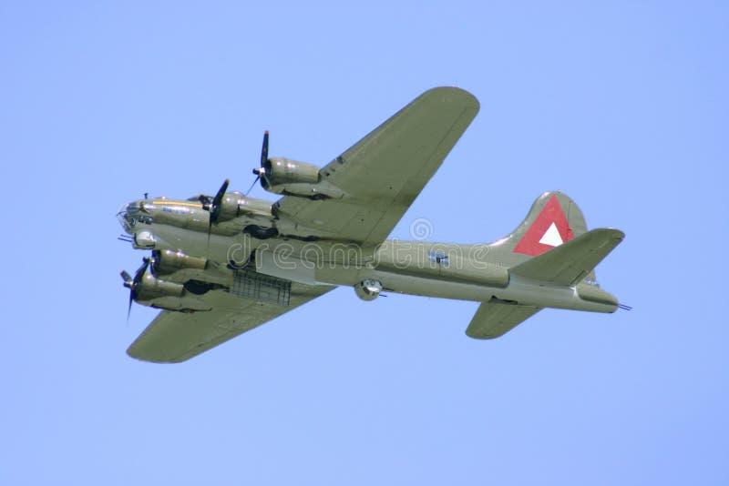 WWII Bomber lizenzfreies stockfoto