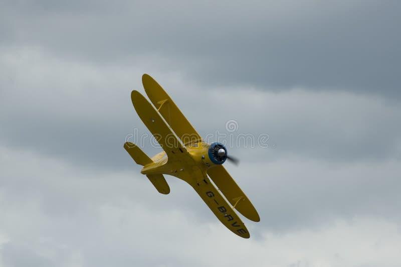 WWII Flugzeuge am Duxford airshow lizenzfreie stockbilder