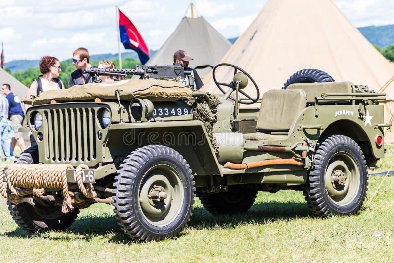 WWII-Jeep stockfotografie