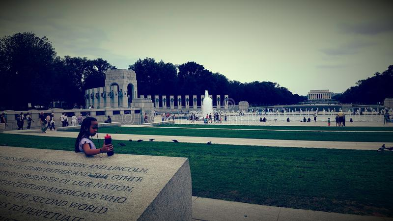 WWII Memorial royalty free stock photo