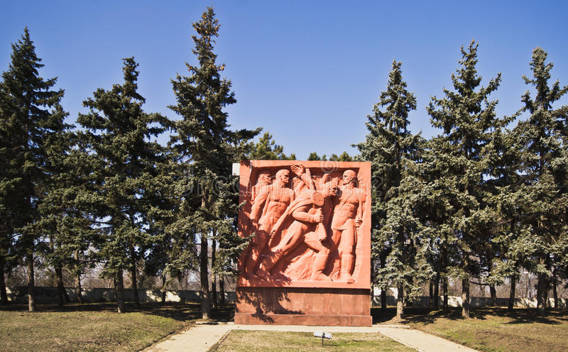 WWII-Monument stockfoto