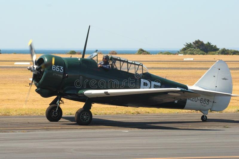 WWII RAAF trainer - Wirraway stock image