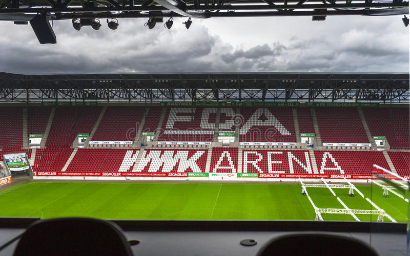 At WWK Arena stock photo