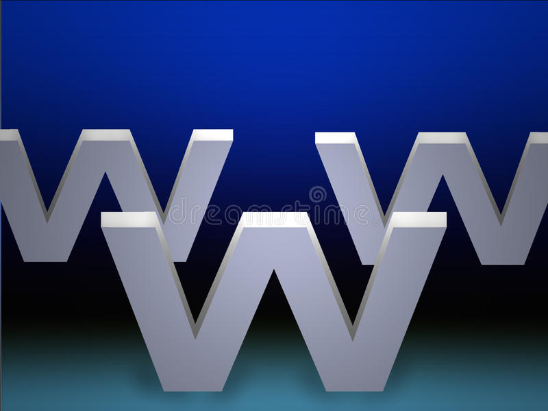 WWW vektor abbildung