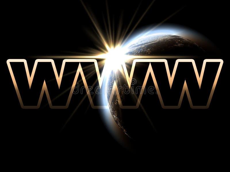 WWW royalty illustrazione gratis