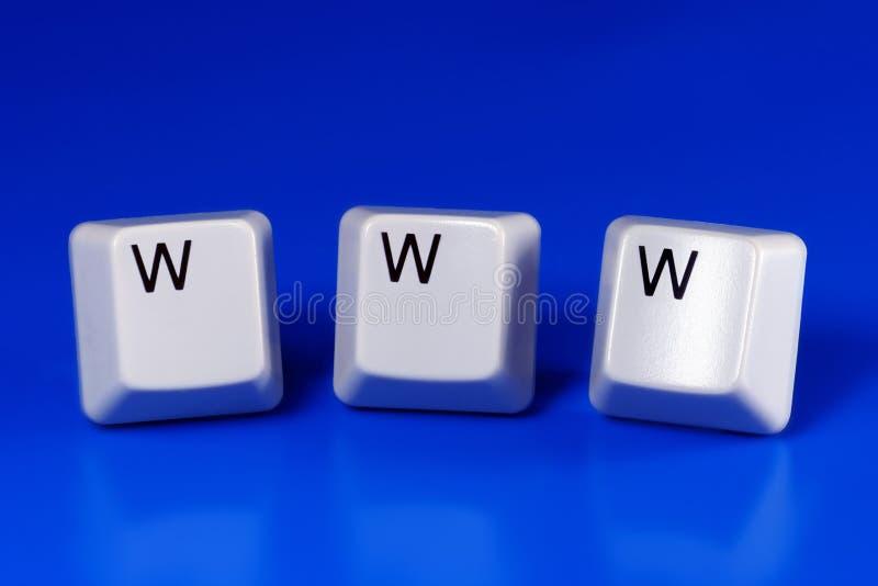 WWW imagens de stock