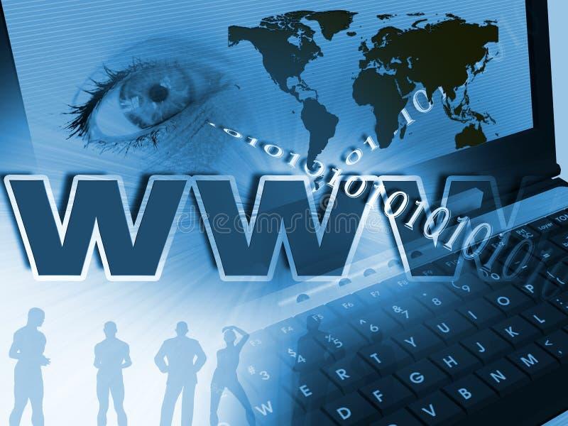 WWW lizenzfreie abbildung