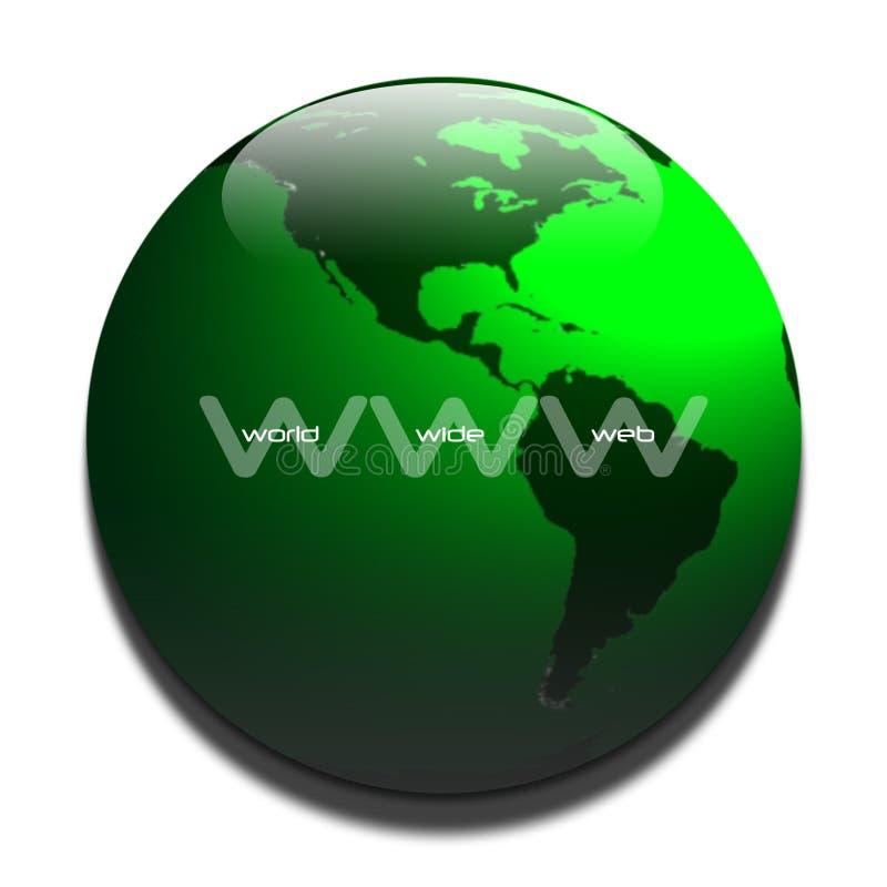 WWW ilustração do vetor