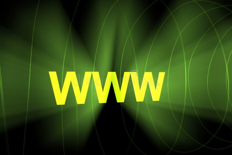 WWW Imagens de Stock Royalty Free