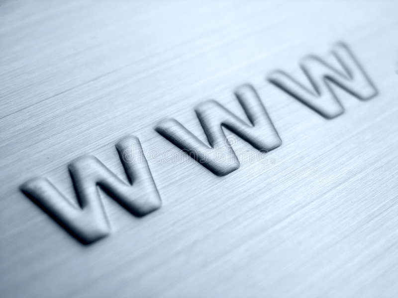 WWW astratto immagini stock libere da diritti