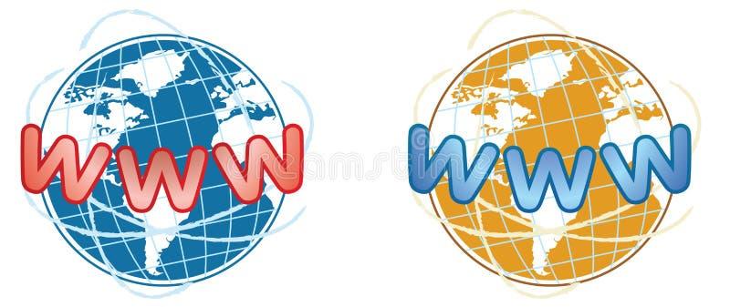 WWW-Ikone vektor abbildung
