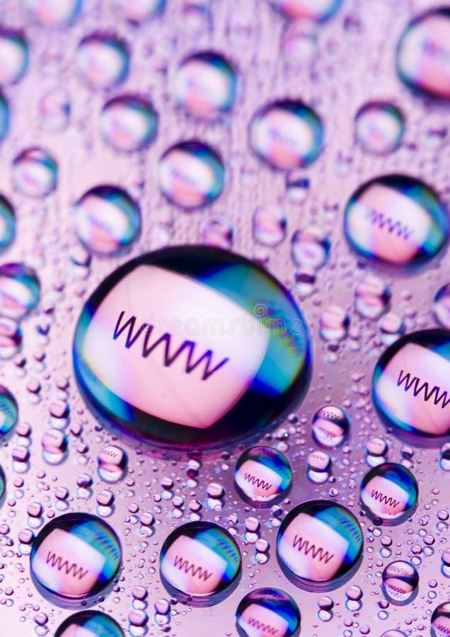 WWW-Ikonen lizenzfreie stockfotografie
