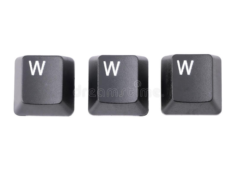 Download WWW keys stock image. Image of computer, acronym, button - 17910693
