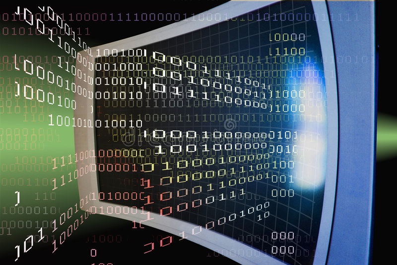 WWW-Web-Internet-HTTP-Bildschirm lizenzfreie abbildung