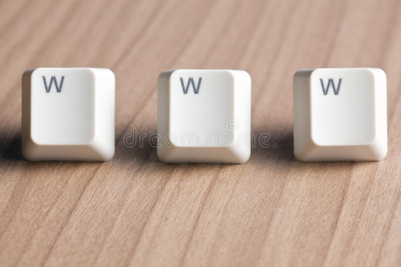 Download Www Word  Making From Computer Keyboard Stock Photo - Image: 15637612