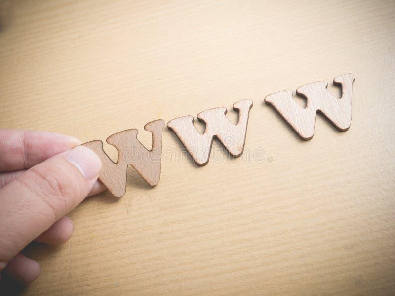 WWW World Wide Web Internet Concept stock photos
