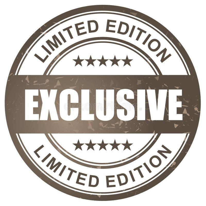 Wyłączność na wywiad ograniczający wydanie znaczek ilustracji