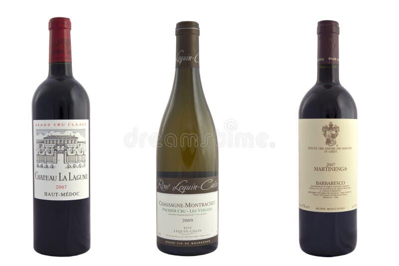 Wyłączny wino obraz stock