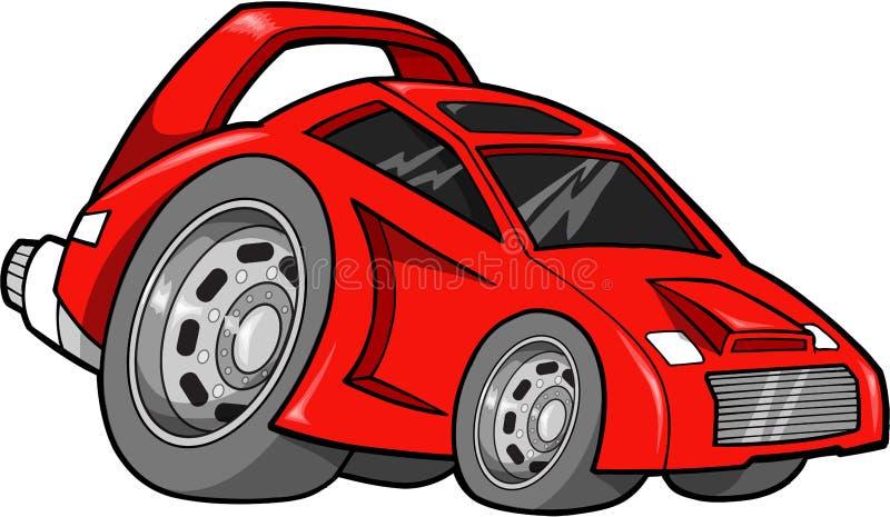 wyścig samochodów wektora royalty ilustracja