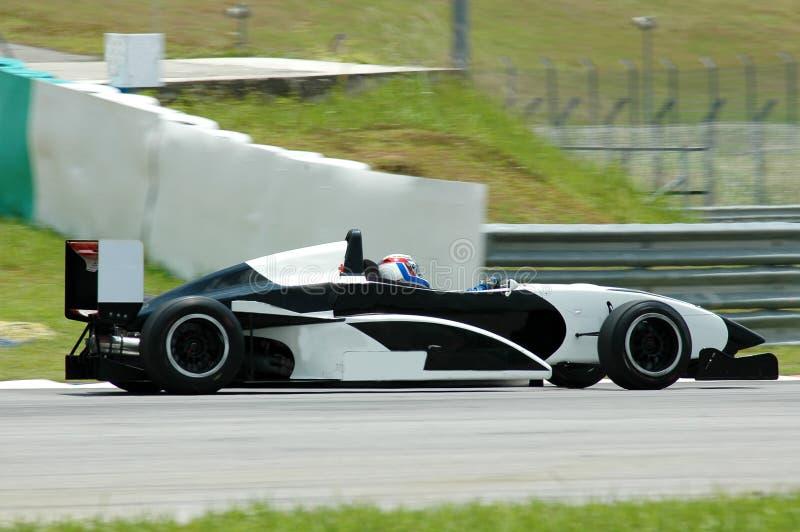 wyścigi samochodów zdjęcie stock