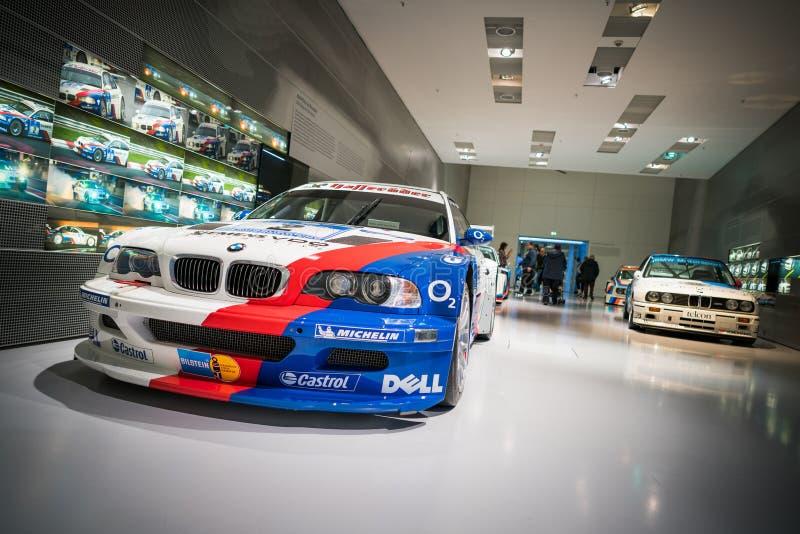 wyścigi samochodów bmw obraz stock