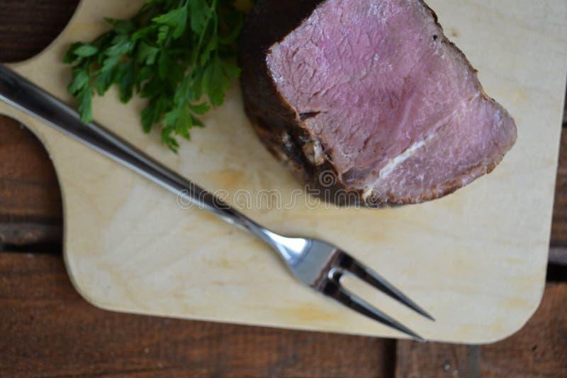 Wyśmienicie świeżo gotująca wołowina obraz royalty free