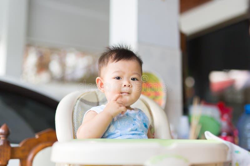 Wyśmienicie czas dziecko fotografia stock