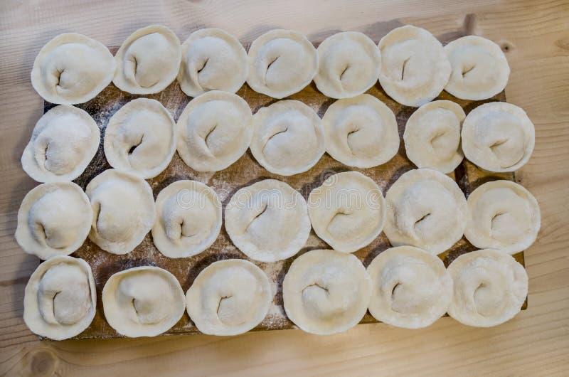 Wyśmienicie domowej roboty mięsne kluchy zdjęcie royalty free
