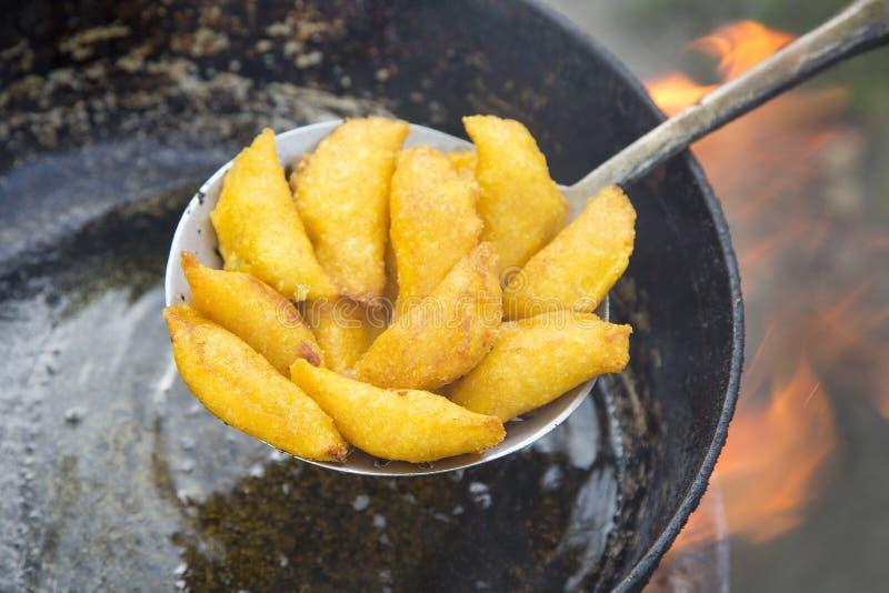 Wyśmienicie empanadas - Kolumbijska kuchnia fotografia royalty free