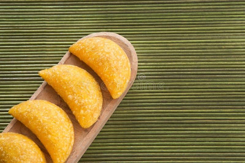 Wyśmienicie empanadas - Kolumbijska kuchnia obrazy royalty free