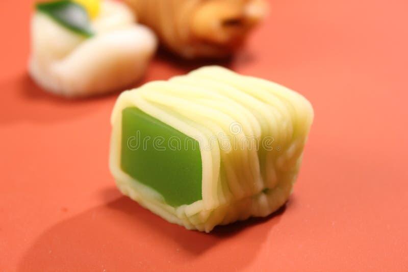 Wyśmienicie Japońskiego stylu cukierków jedzenia relaks obraz stock