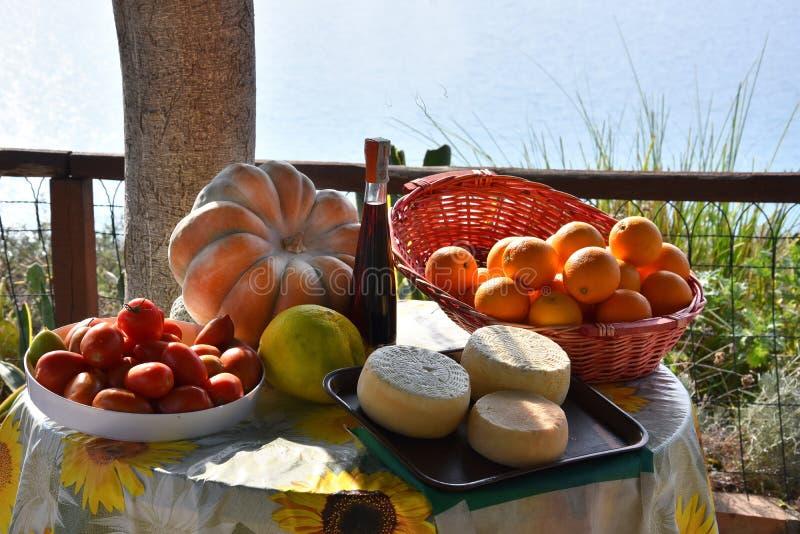 Wyśmienicie jedzenie, specjalność Calabria fotografia stock