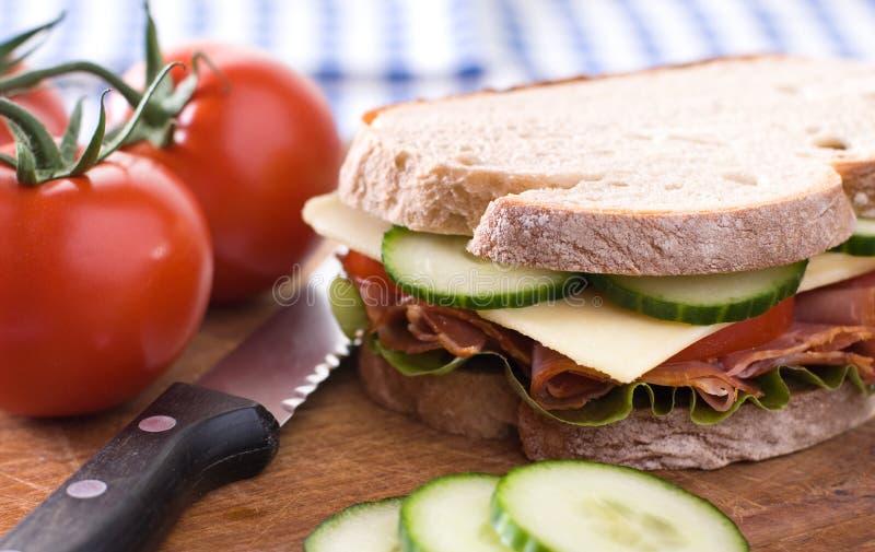 Wyśmienicie kanapka zdjęcie royalty free
