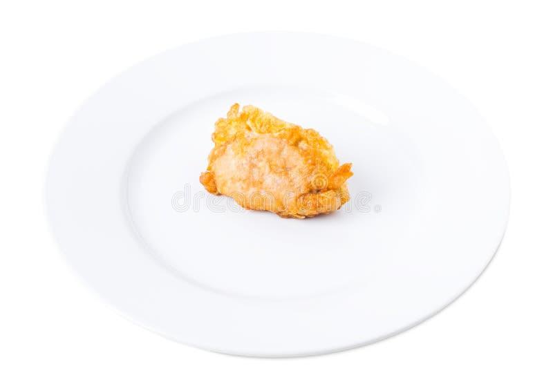 Wyśmienicie powyginany kurczak polędwicowy obraz royalty free