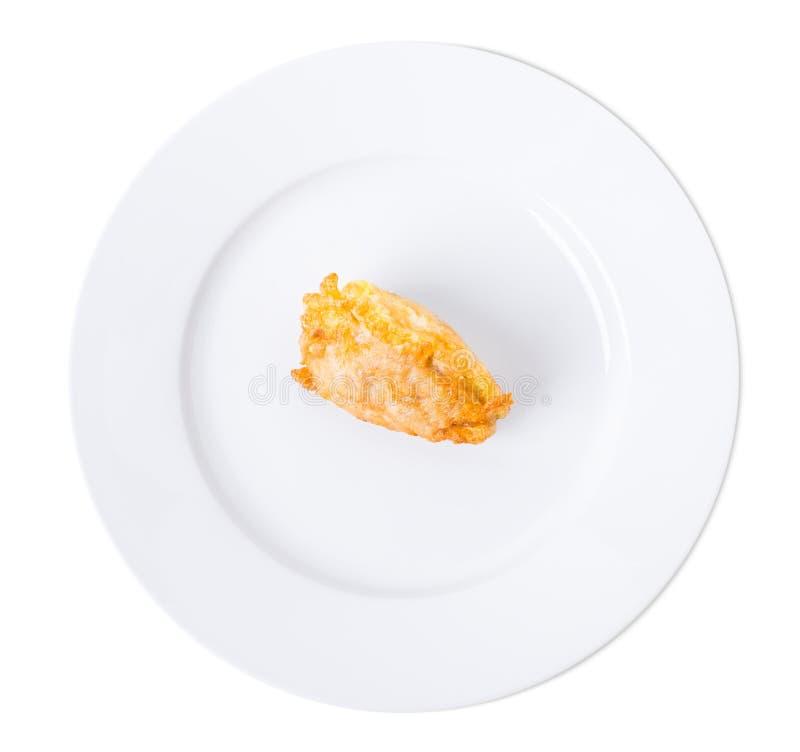 Wyśmienicie powyginany kurczak polędwicowy zdjęcia stock