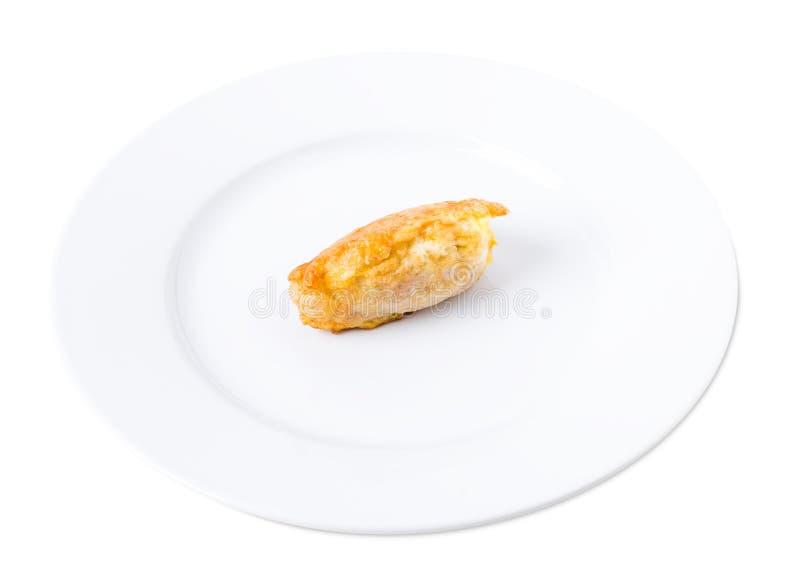 Wyśmienicie powyginany kurczak polędwicowy fotografia stock